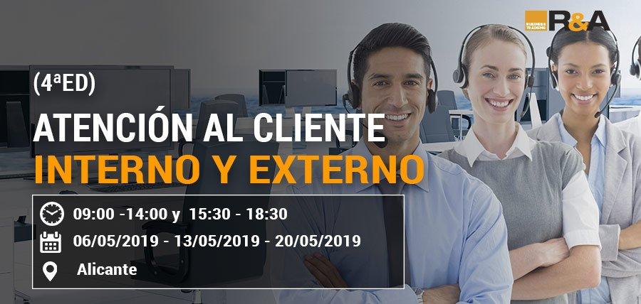 Formación Atención al Cliente Alicante